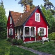 Domek w szwedzkim stylu